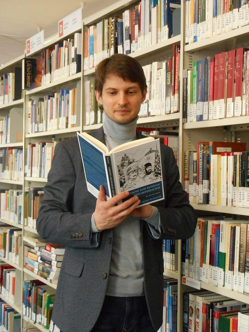 Ostap Kushnir's book: new and current: Uczelnia Łazarskiego